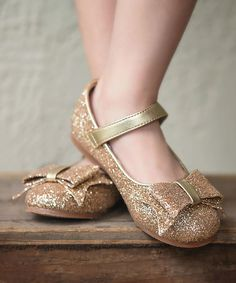 Love this Gold Dorothy Mary Jane - Toddler & Girls on #zulily! #zulilyfinds