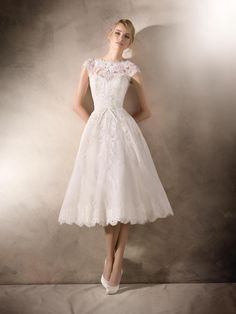 Short wedding dresses collections 17