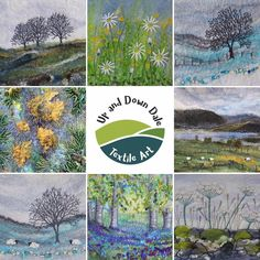 Aware I've not posted any new artwork for ages, so here is a montage of eight designs that have been made into cards. I've been working on… Mixed Media Artwork, Mixed Media Artists, West Coast Scotland, Free Motion Embroidery, Embroidery Stitches, Lone Tree, Wet Felting, Needle Felting, Winter Trees