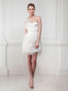 Vestido de noiva curto? Porque não? | O Nosso Casamento