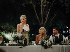 A flawless maid of honor speech can't be hastily written on your phone at the wedding reception — it takes time, at least a few drafts and a lot of practice. Here's how to write a maid of honor speech that will garner a standing ovation. Wedding Speech Order, Best Friend Wedding Speech, Bride Speech, Groom's Speech, Best Man Speech, Flower Girls, Wedding Humor, Wedding Day, Wedding Photos
