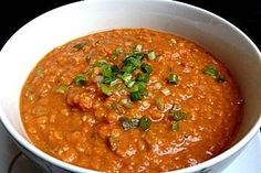 Rote Linsen - Curry
