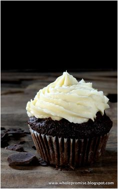 Whole Promise: A Worthwhile Indulgence - Chocolate Coconut Cupcakes