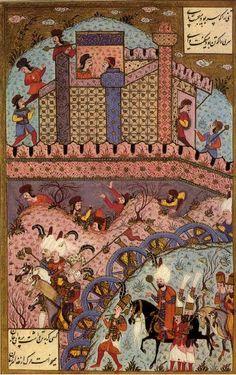 Sultan Suleiman the Magnificent during the Siege of Estolnibelgrad in Hungary, 1543
