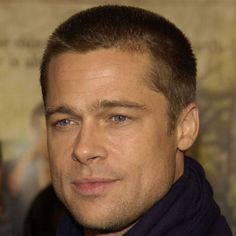 Brad Pitt Buzz Cut - Best Brad Pitt Haircuts: How To Style Brad Pitt's Hairstyles, Haircut Styles, and Beard #menshairstyles #menshair #menshaircuts #menshaircutideas #menshairstyletrends #mensfashion #mensstyle #fade #undercut #bradpitt #celebrity #bradpitthair Buzz Cut Hairstyles, Square Face Hairstyles, Face Shape Hairstyles, Cool Hairstyles, Formal Hairstyles, Black Hairstyles, Brad Pitt Haircut, Buzz Haircut, Brad Pitt Short Hair