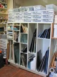Image result for stained glass studio setup