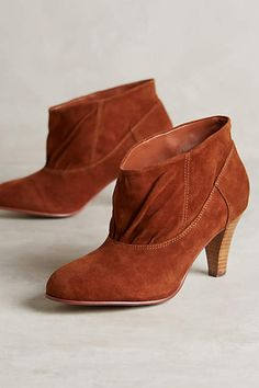 Shop boots for every occasion in The Boot Shop at Anthropologie. Discover unique booties, tall boots, weather boots and more, including the season's newest arrivals. Suede Booties, Bootie Boots, Shoe Boots, Women's Boots, Suede Shoes, Kelsi Dagger, Buckle Ankle Boots, Latest Shoes, Boot Shop