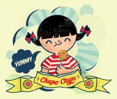 vintage Chupa Chups