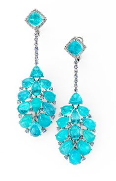 Martin Katz Paraiba earrings