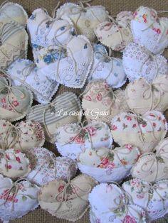 La casa di Gaia: Cuori di lavanda e talee di ortensia - Hearts of lavender and hydrangea cuttings