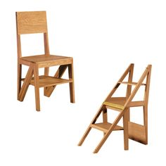 Scala Zero chair / step by Morelato. Can we say clever dual function?