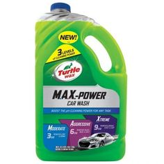 Boost The pH Cleaning Power For Any Task. MAX Power car wash increases pH cleaning power when more formula is used to clean. Traditional car washes stay pH neutral, no matter how much is used.