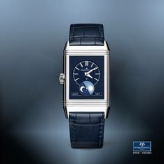 80ae40a783b6  TiempoPeyrelongue Jaeger-LeCoultre El reloj Reverso Tribute Moon de acero