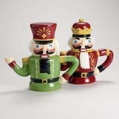 #WorldMarket- Adorable and collectible Nutcracker Teapots are a must-have this season!