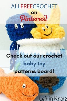 Yarn Crafts For Kids, Crochet Baby Toys, Baby Smiles, All Free Crochet, Crochet For Beginners, Stuffed Toys Patterns, Pinterest Board, Big Kids, Knitting