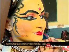 In memeory of great kathakali artist Sathi Varma - YouTube