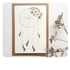 Image of Carte postale Attrape-rêves