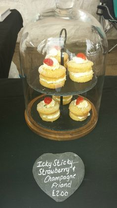 Icky Sticky Cake Co Strawberry Champagne, 28th October, Cake & Co, Goodies, Friday, Cakes, Night, Desserts, Food