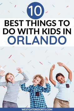 This list of the top 10 best things to do in Orlando with kids includes the best kids activities in Orlando Florida. Get ideas for things to do in Orlando Florida with kids in summer and for cheap things to do in Orlando with kids as well as things to do in Orlando besides Disney. #orlando #familyvacation | Orlando with kids | Orlando kids activities | Orlando kids things to do | Orlando kids vacation | Orlando Florida things to do with kids Orlando Travel, Orlando Resorts, Orlando Vacation, Family Resorts, Family Vacation Destinations, Vacation Villas, Activities In Orlando Florida, Orlando Theme Parks, Things To Do Orlando