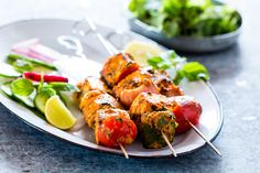 This is the best Tandoori Paneer Tikka in the oven you'll ever make at home! Same restaurant style taste, but roasted in the oven. Aloo Recipes, Oven Recipes, Slow Cooker Recipes, Cooking Recipes, Tandoori Paneer, Tandoori Chicken, Vegetable Skewers, Paneer Dishes, Look And Cook
