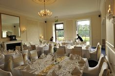 Get married in an elegant Georgian manor house - right on the edge of the city centre! Find out more 01392 874139 / http://exetergcc.co.uk/events/wedding-venue-in-exeter