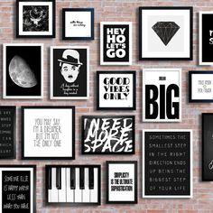 61 Best Ideas For Bedroom Wall Decor Girls Black White