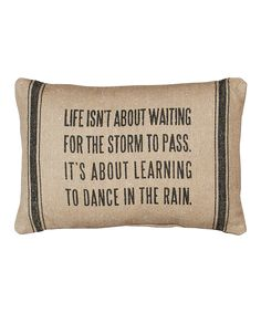 Dance in the rain | pillow