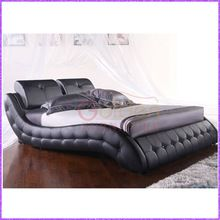 Australia Market Popular Designs Leather Bed Made in China