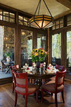 Breakfast Nook              Interior Design  - Peaks View Residence                                      HIDE                    INTERIOR DESIGN                       Bacon Residence          Barnard Residence          Blosser Residence
