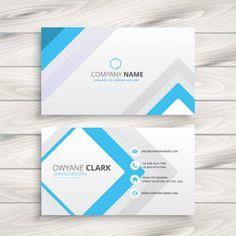 la lumière carte de visite blanche design minimaliste Vecteur gratuit