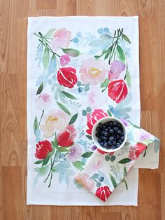 in love with this tea towel. make into a pillow?