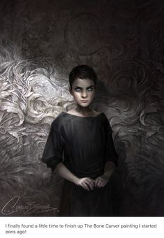 The Bone Carver - creeptastic Charlie Bowater, you slay me