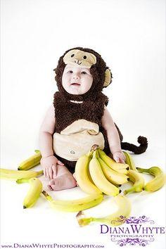 Kids Halloween costume monkey