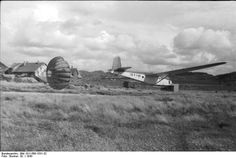 A German Fallschirmjäger DFS 230 Glider