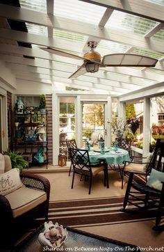 An Ordinary Patio Becomes A Beautiful Three-Season Porch