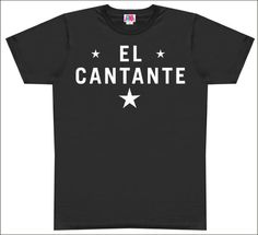 This is the t-shirt that Hector Lavoe used to wear for his shows. Musica Salsa, Salsa Music, Salsa Dancing, Latin Music, Famous Singers, All About Time, My Love, My Style, Mens Tops