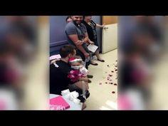 """Kanser Hastası Minik Kız, Hayallerinin Erkeği Olan Hemşire ile """"Evleniyor"""" - http://www.aylakkarga.com/kanser-hastasi-minik-kiz-hayallerinin-erkegi-olan-hemsire-ile-evleniyor/"""