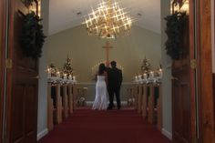 It may be cold outside, but our 5 star chapel is warm and welcoming. #ChapelatthePark #weddings #winter