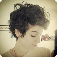 twenty Cute Curly Hairstyles for Short Hair | Hairstyles