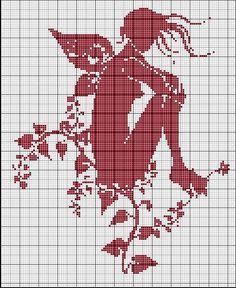 .fairy silhouette
