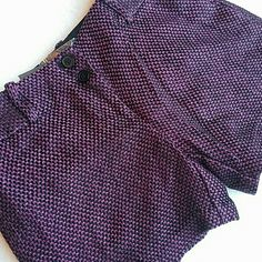 NWT tweed shorts from THE LIMITED Purple and black tweed shorts. Drew fit. Described as sexy and streamlined, low rise waist, straight hip and thigh. Fully lined. 4.5 in inseam The Limited Shorts