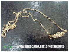 Colar Barquinho de Papel  www.mercado.etc.br/dixiearte