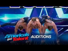 ▶ Showproject: Shirtless Gymnasts Wow the Crowd - America's Got Talent 2015 - YouTube If you scroll down in the comments there is a German man who put a link to another one of their performances.