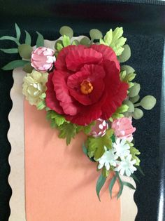 251 Best Craft Punch Flowers Images Fabric Flowers Paper Flowers