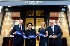 WtheJournal - Longines officially inaugurates its first monobrand boutique in France France, Paris, Boutique, Watches, Jewelry, Jewellery Making, Wristwatches, Jewelery, Clocks