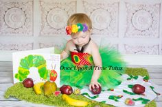 The Very Hungry Caterpillar Tutu Dress Little Girls Size 6 12 Months 2T 3T 4T 5 in Clothing, Shoes & Accessories | eBay
