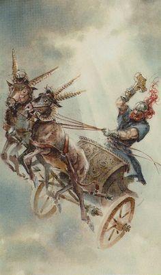WI- VII - Der Wagen - Der Wagen des Thor