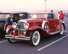 1932 Duesenberg Murphy convertible