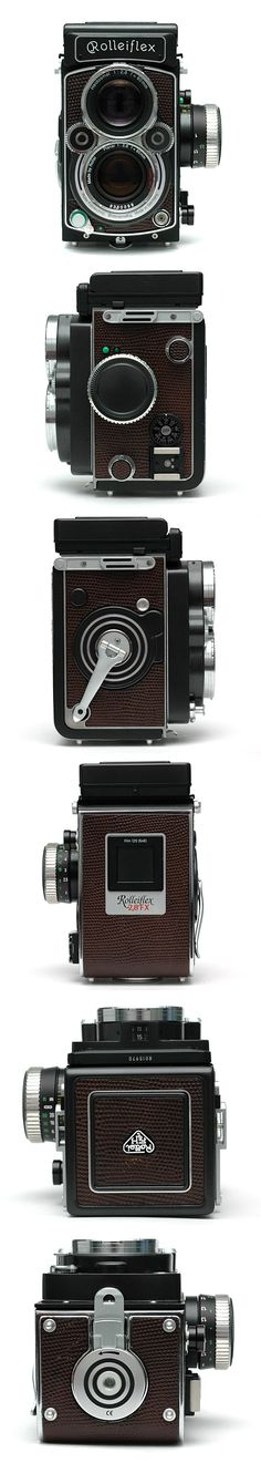 Rolleiflex 2.8FX(Plannar 80mm F2.8)  I'd give a kidney for one of these.  Probably... most likely... maybe?