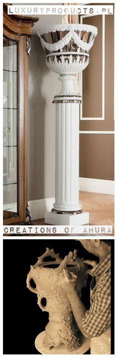 Make your space elegant with decorative columns - Made in Italy  http://www.luxuryproducts.pl/p,filar_rzymski_w_opcji_z_donica,56485.html